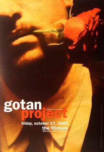 Gotan Project - The Fillmore - October 17, 2003 (Poster)