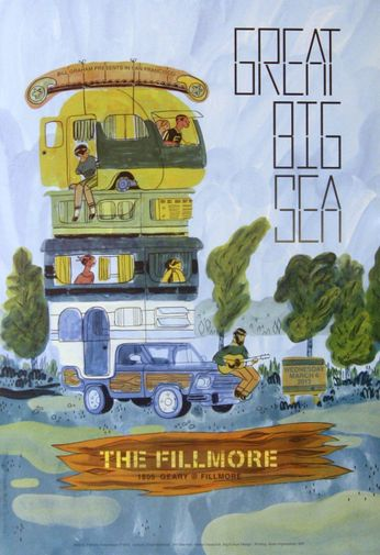 Great Big Sea - The Fillmore - March 6, 2013 (Poster)