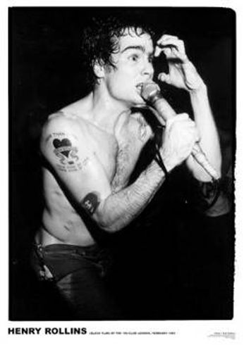 Henry Rollins - Henry Rollins - 100 Club 1983 (Poster)