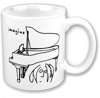 John Lennon - Imagine Piano (Mug)