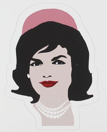 Jackie O. - I Love Being a Girl (Sticker)