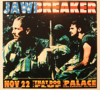 Jawbreaker - The Palace, Los Angeles - November 22, 1995 (Poster)