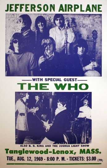 jefferson airplane    the who - tanglewood