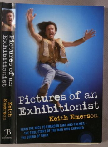 Keith Emerson - Pictures of an Exhibitionist (Book)