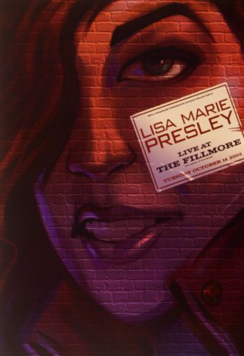 Lisa Marie Presley - The Fillmore - October 14, 2003 (Poster)