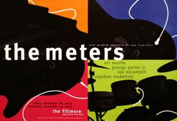 The Meters - The Fillmore - November 18-19, 2005 (Poster)