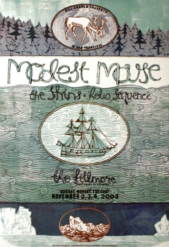 Modest Mouse - The Fillmore - November 2-4, 2003 (Poster)