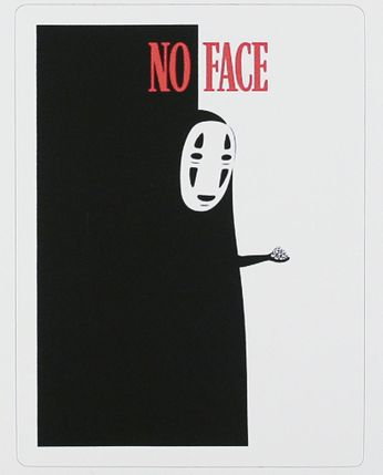 No Face - Very Delicious Tiny Food (Sticker)