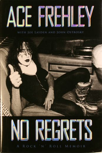 Ace Frehley / Joe Layden / John Ostrosky - No Regrets (Book)