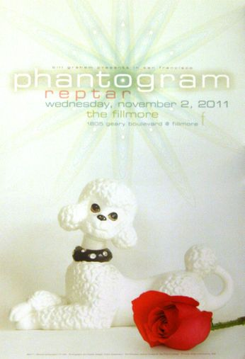Phantogram - The Fillmore - November 2, 2011 (Poster)