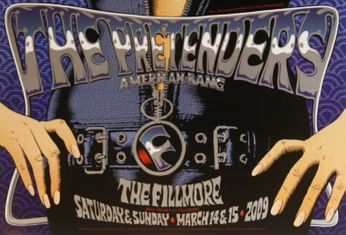 The Pretenders - The Fillmore - March 14-15, 2009 (Poster)