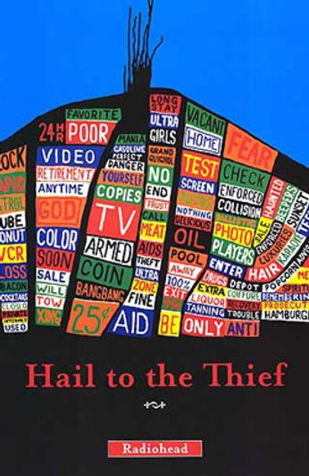 Radiohead - Hail To The Thief (Poster)