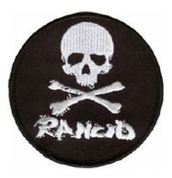 Rancid - Skull Logo (Patch)