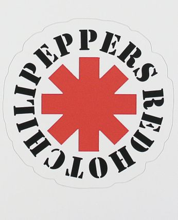 Red Hot Chili Peppers - Star of Affinity Logo (Sticker)