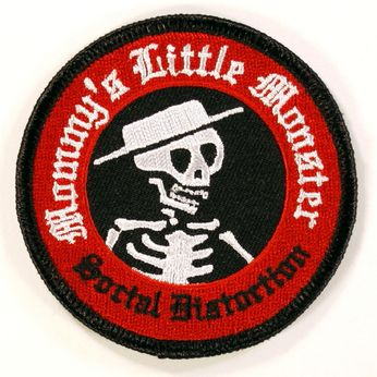 Social Distortion - Mommy's Little Monster Circular (Patch)