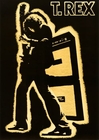 T. Rex - Electric Warrior (Poster)