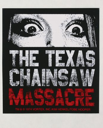 The Texas Chainsaw Massacre - Who Will Survive... (Sticker)