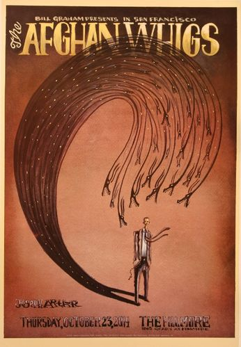 The Afghan Whigs - The Fillmore - October 23, 2014 (Poster ...