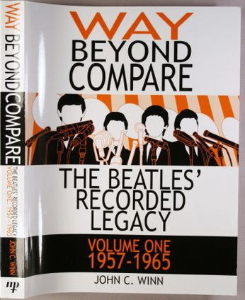 The Beatles - Way Beyond Compare: The Beatles' Recorded Legacy, Volume One, 1957-1965 (Book)
