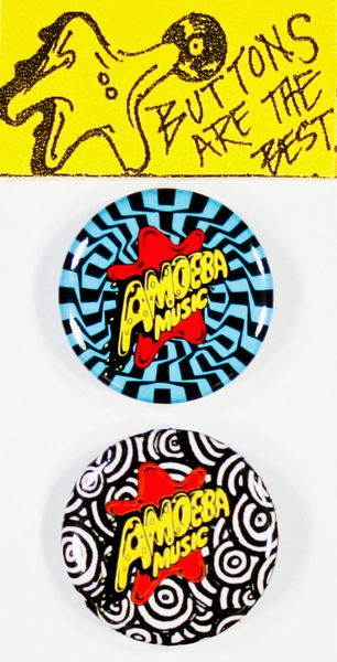 Amoeba Badges (Pin Pack)