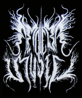Black Metal Amoeba Logo