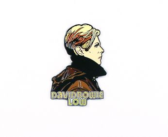 David Bowie - Low Profile (Pin)
