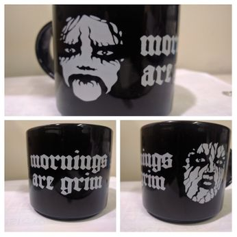 Dark & Somber Greetings (Mug)