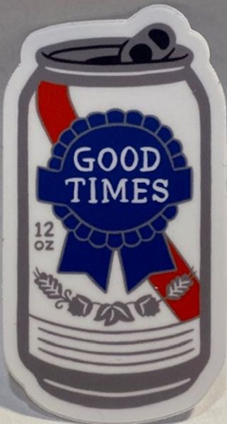 Good Times Blue Ribbon (Sticker)