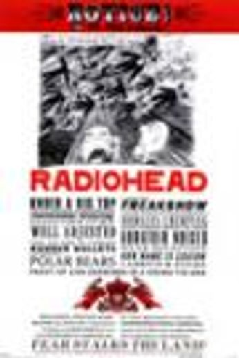 Radiohead - Notice to the Public (Poster)