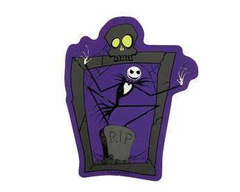 Nightmare Before Christmas - R.I.P. Jack (Sticker)