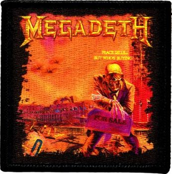 Megadeth - Peace Sells... (patch)