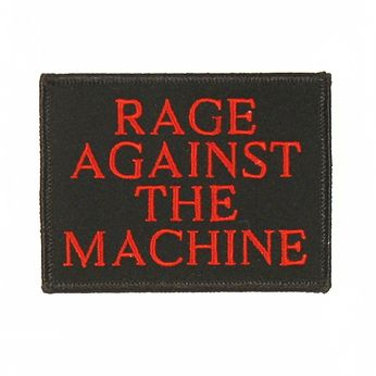 Rage Against the Machine - Logo Embroidered (Patch)