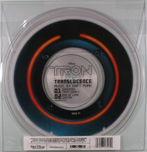 Daft Punk Tron Legacy Translucence Picture Disc