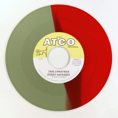 Donny Hathaway This Christmas.Cee Lo Donny Hathaway This Christmas Red Green Vinyl