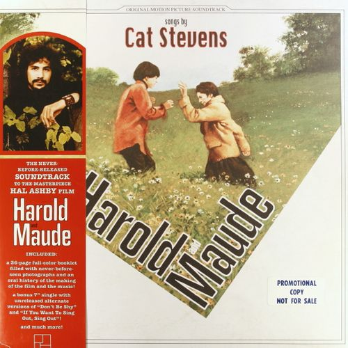 cat stevens harold and maude promo only green marble