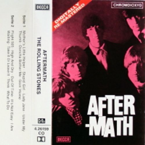 The Rolling Stones - Aftermath [German] (Cassette) - Amoeba