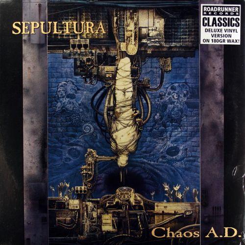 Sepultura Chaos A D 180 Gram Vinyl Vinyl Lp