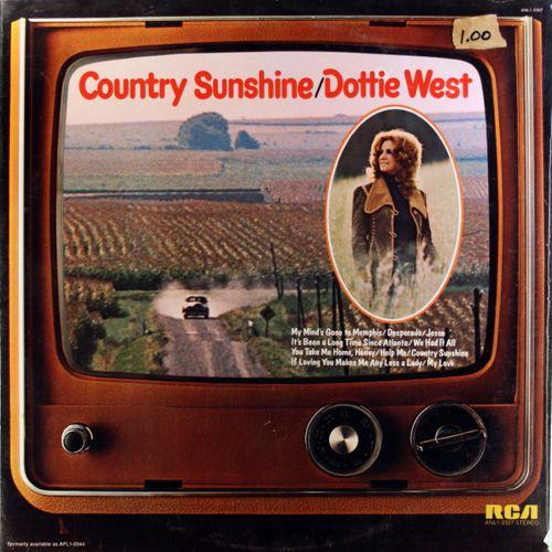 Dottie West Country Sunshine Vinyl Lp Amoeba Music