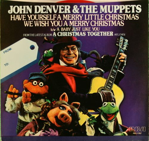 john denver have yourself a merry little christmas red vinyl 7