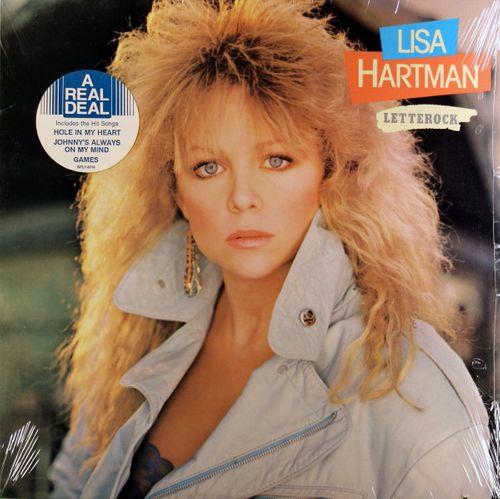 Lisa Hartman Black Letterock Vinyl Lp Amoeba Music