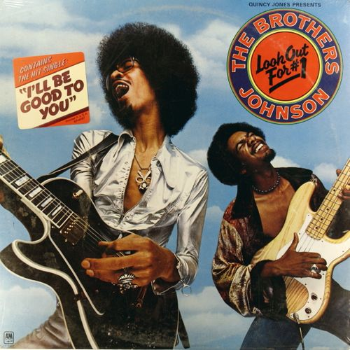 The Brothers Johnson Look Out For 1 Vinyl Lp Amoeba