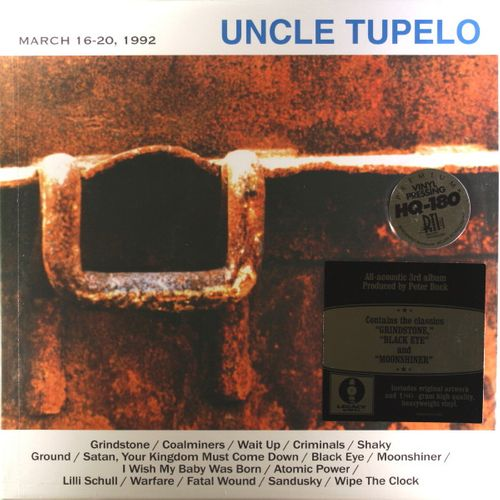 Uncle Tupelo March 16 20 1992 Record Store Day 2012