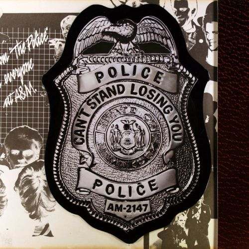 The Police Roxanne Badge Shaped Picture Disc Vinyl 7