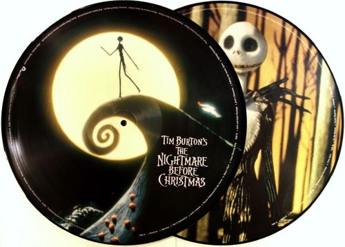 Danny Elfman, Tim Burton's The Nightmare Before Christmas (OST) [Picture Disc,
