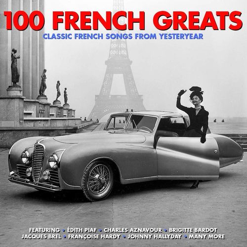 Various Artists - 100 French Greats (CD) - Amoeba Music