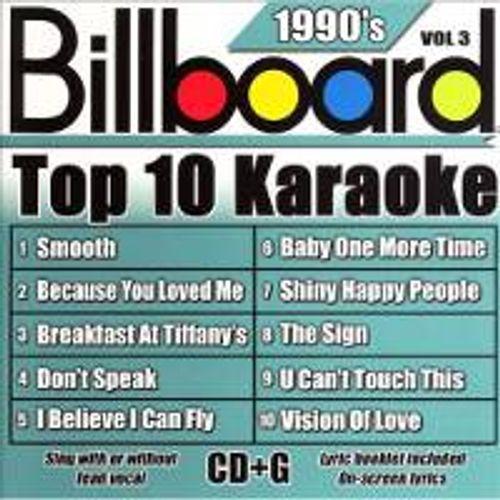 Various Artists - 1900's Billboard Top 10 Karaoke - Vol  3 (CD