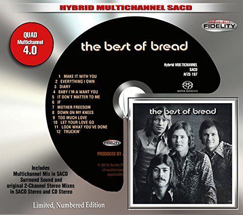 Bread - The Best Of Bread [SACD Hybrid] (CD) - Amoeba Music