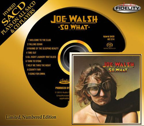 Joe Walsh - So What [Audio Fidelity] (CD) - Amoeba Music