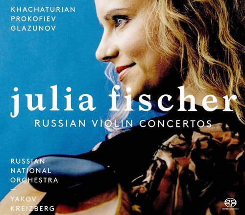 Julia Fischer - Russian Violin Concertos (CD) - Amoeba Music