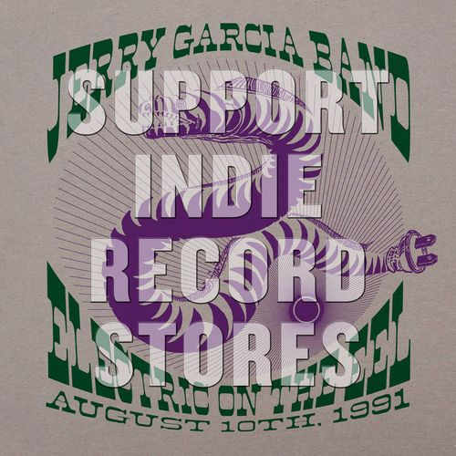 f58e86e1 Electric On The Eel: August 10th, 1991 [Record Store Day] (LP). Jerry  Garcia Band
